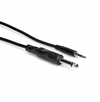 Hosa CMP-103 6.3mm TS - 3.5mm TRS Cable 1m