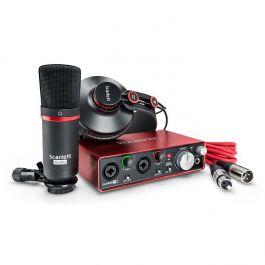 6d85d9a84f7 Focusrite Scarlett 2i2 Studio Pack 2nd Gen Komplektis - USB Helikaart,  Mikrofons, Kõrvaklapid, Kaablid - Soundium.ee