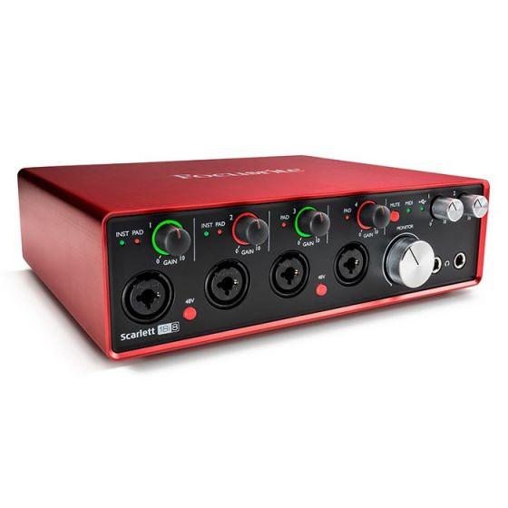 44f25bde3aa Focusrite Scarlett 18i8 2nd Gen USB Helikaart - Soundium.ee