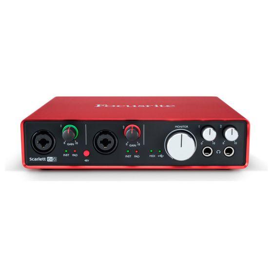 9fa4a5ed7f1 Focusrite Scarlett 6i6 2nd Gen USB Helikaart - Soundium.ee