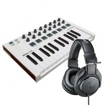 Arturia Minilab MK2 + Audio Technica ATH-M40x Bundle