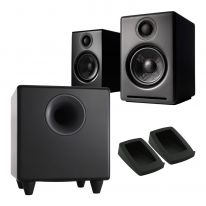 Audioengine A2+ Wireless + S8 Sub + Pads Bundle