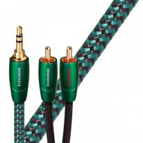 Audioquest Evergreen 3.5mm TRS - Dual RCA Cable 1m