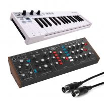 Behringer Model D + Arturia Keystep Bundle