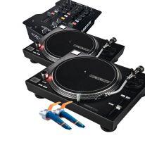 Reloop RP-7000 Black + A&H Xone:23 + Ortofon DJ MK2 Bundle