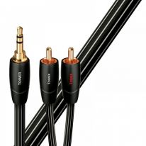 Audioquest Tower 3.5mm TRS - Dual RCA Cable 1m