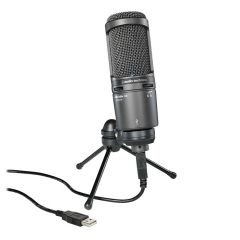 Audio Technica AT 2020 USB+ Stuudio Kondensaator Mikrofon