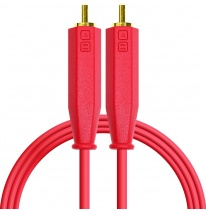 DJ Techtools Chroma Dual RCA - Dual RCA Cable 1.5m (Red)