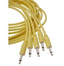 Erica Synths Eurorack Patch Cables 0.6m (5 pcs, Yellow)