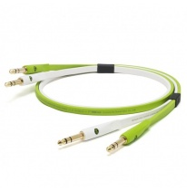 Oyaide NEO d+ TRS Class B Dual 6.3mm TRS - Dual 6.3mm TRS Cable 1m