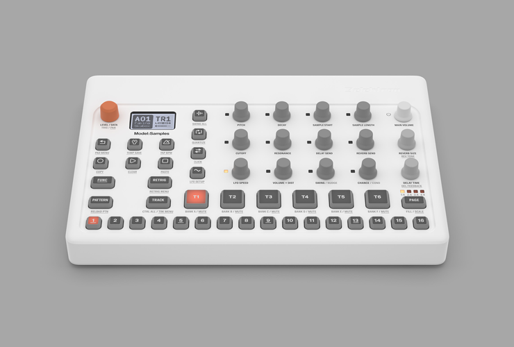 Uus: Elektron Model:Samples groovebox
