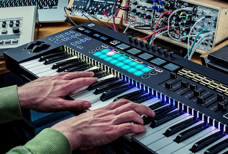 Uus: Novation SL MK3 MIDI klaviatuur
