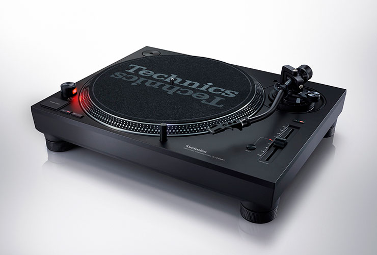 Uus: Technics SL-1210MK7 turntable